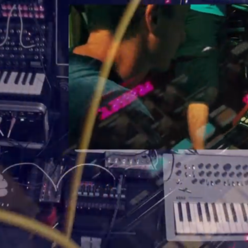 a fun hardware Jam Session with mike longo and afrodjmac