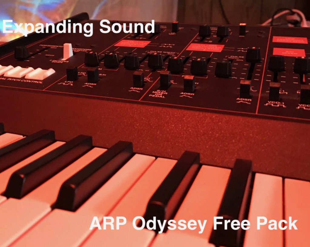 ARP Odyssey Ableton Instrument Free Pack
