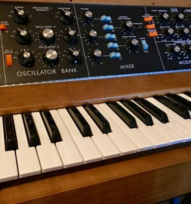 MiniMoog Bass Instruments for Ableton