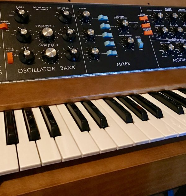 MiniMoog Bass Instruments for Ableton
