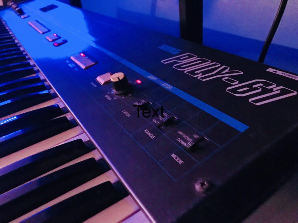 Korg Poly61 Ableton Instruments