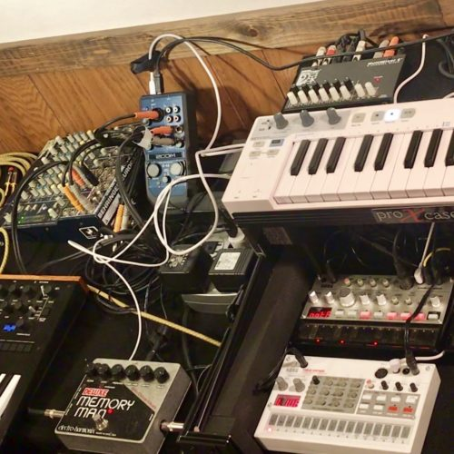 volca and Monologue jam