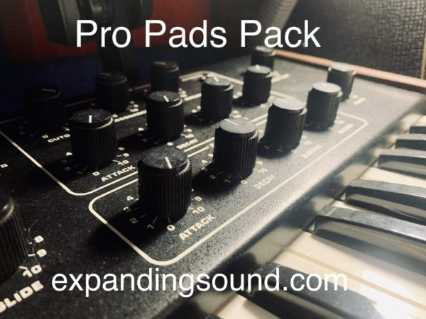 Expanding Sound ProPads Ableton Pack